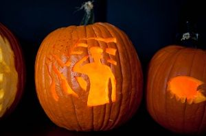 How To Carve A Military Themed Pumpkin Free Pumpkin Stencils
