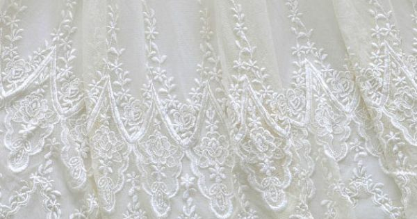 Bridal Lace Fabric By The Yard Eyelet Lace Fabric By