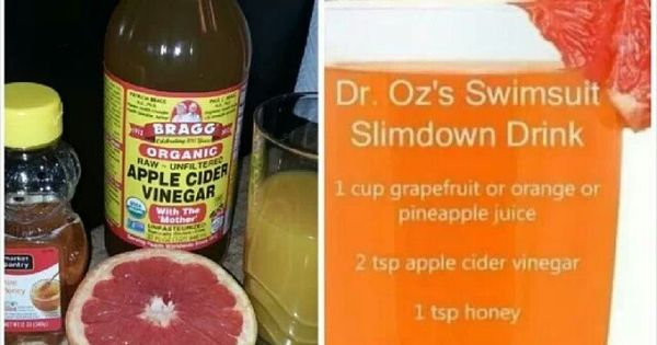 Dr oz slim down drink. Use after two weeks. | Dr Oz Two ...