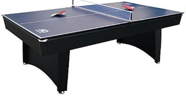 Md Sports 7ft Brookfield Billiard Table W Bonus Table Tennis Top Alternate Image Billiard Table Table Tennis Ping Pong Table