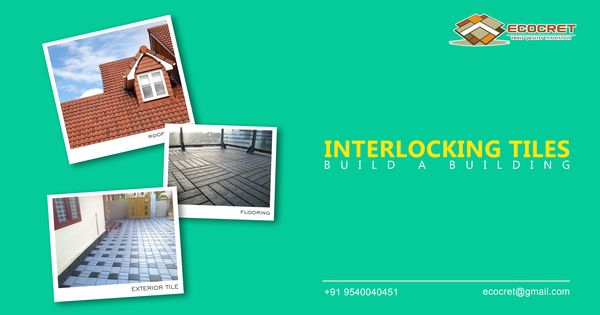 Ecocret Is The Largest Manufacturer Supplier Of Paver Blocks Interlocking Tile And Paver Tiles Which Are Avail Paver Blocks Paver Tiles Flooring Contractor