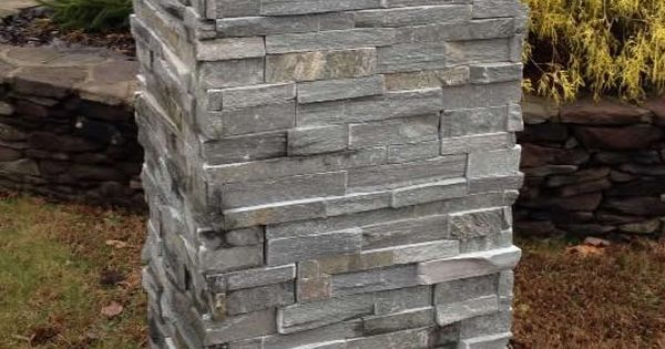 Ready Made Pillars : Natural pre built made stone pillar … pinteres…
