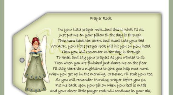 photograph about Prayer Rock Poem Printable named Prayer Rock Poem Billy Knight