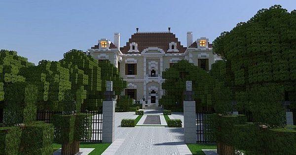 Crespi Estate Rebuild Minecraft house mansion acres luxury ... Ideas For Minecraft Mansions
