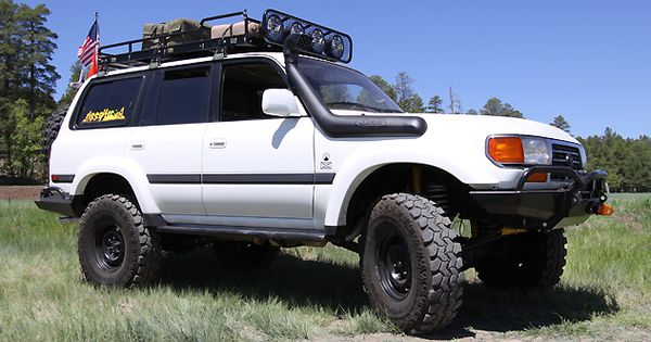 Shop Build Slee Off Road Toyota 80 Series Land Cruiser