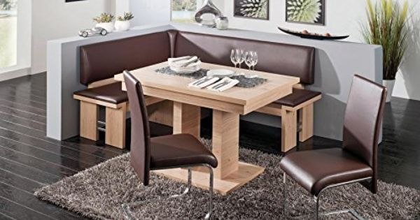 Rhodos Breakfast Nook By German Furniture Warehouse Http Www Amazon Com Dp B00qivuml2 Ref Cm Sw R Pi Dp 6fv Corner Dining Set Kitchen Nook Kitchen Furniture