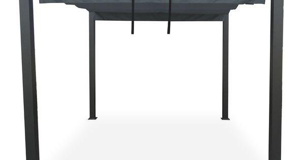 Tonnelle autoportante carcassonne 3 x 3 m avec toile for Tonnelle avec toile retractable