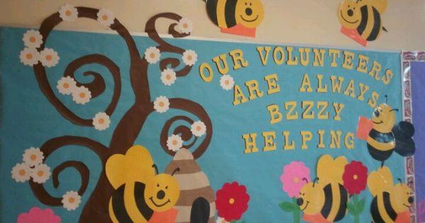 Volunteer bulletin board | Favorite Places & Spaces ...