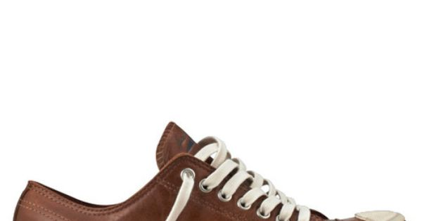 Converse - Jack Purcell Low Profile Leather - Low - (British Tan)