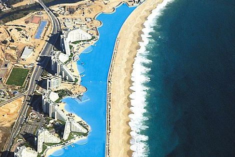 Worlds Largest Pool ~ At the San Alfonso del Mar resort in