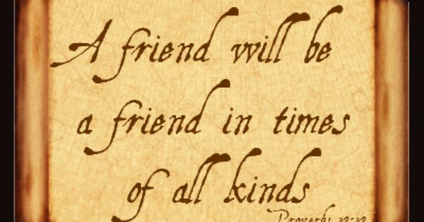 Bible Verses About Fake Friendship : Friendship quotes from the bible day and