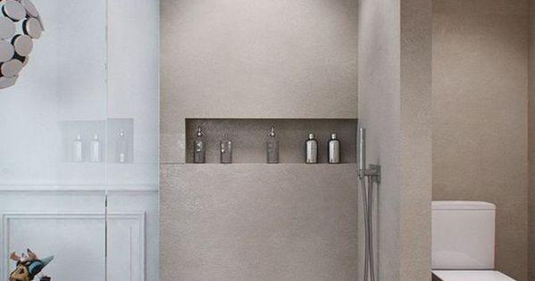 La salle de bain avec douche italienne 53 photos salle for Jolie salle de bain italienne