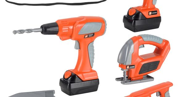 Home Depot Toys For Boys : The home depot deluxe tool set toys r us quot
