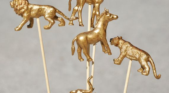 Gold Animals