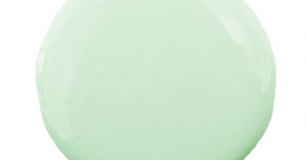Pure Home Paint Color Mint Green ICS 6-3