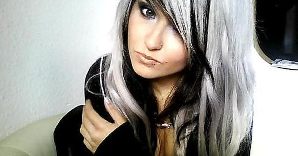 Of course silverhair and blackhair is great too! love haircolor