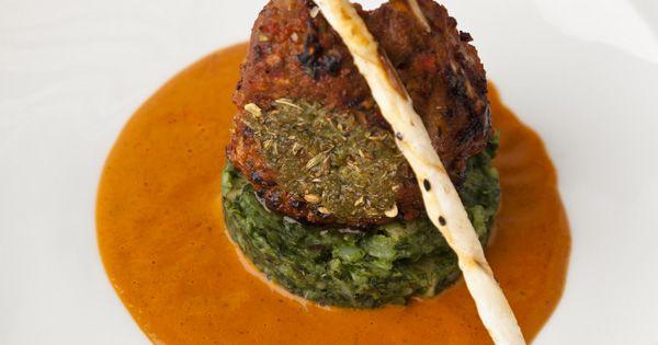 Smoked Pistachio Rack Of Lamb Recipe — Dishmaps