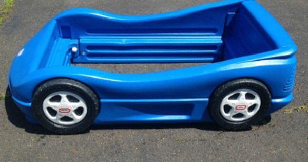 Little Tikes Blue Race Car Toddler Bed Danny Amp Chris