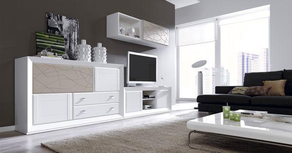 Mueble sal n hermes8 936 muebles salon muebles precio for Muebles modulos salon