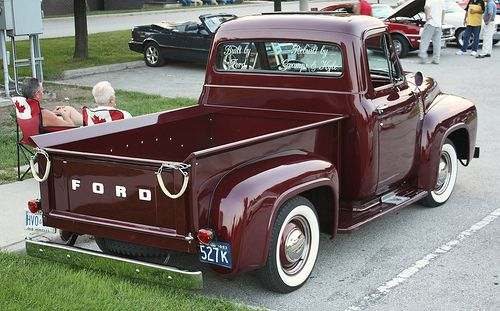 1953 Ford Pickup Truck Ford Trucks 53 66 With Images