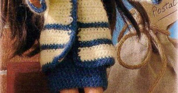 Amigurumi Jacket : Knit jacket scheme Doll, Amigurumi, DIY Craft food toys ...