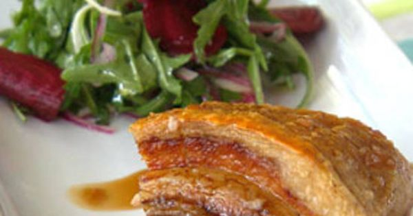 Carly And Tresne My Kitchen Rules Pork Belly With Citrus