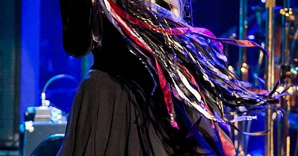 Stevie Nicks Amp Her Famous Ribbon Adorned Tambourine
