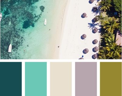 mental vacation. I really like this color scheme
