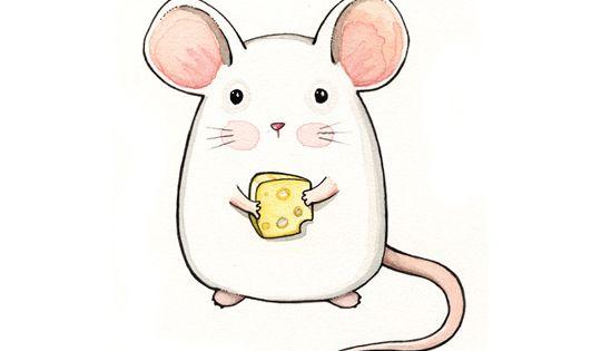 Qui pourrait vouloir chasser une aussi jolie souris de son chez-soi? Celle-là,