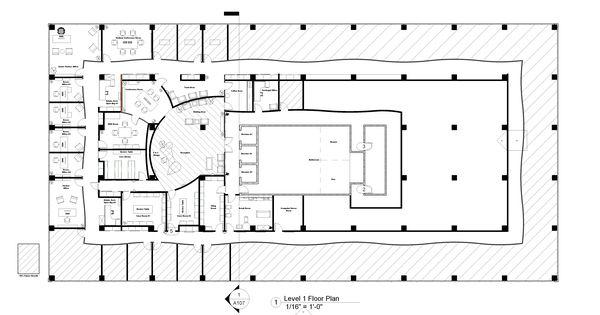 Law Office Floor Plan