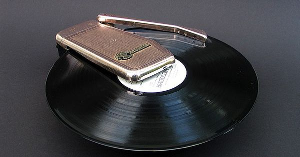 1060's Emerson Wondergram portable record player