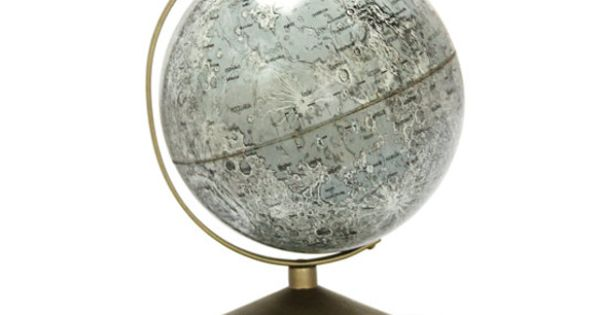 Vintage Moon Globe. I wonder how much more we know about the