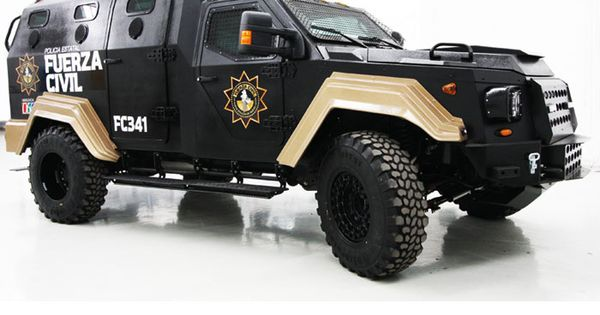 Urban Armored Assault Vehicle Bus