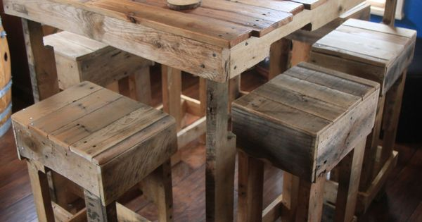 Reclamation Station: Pallet Table