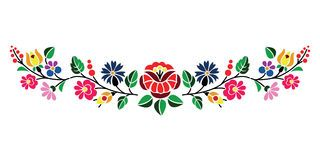 Traditional Hungarian Folk Embroidery Pattern Download From Over