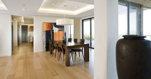 indirekte beleuchtung esszimmer holz m bel laminatboden beleuchtung pinterest indirekte. Black Bedroom Furniture Sets. Home Design Ideas