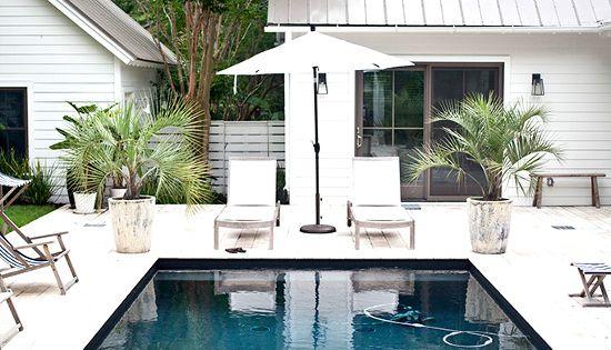 Prive zwembad inspiratie heather a wilson architect interiors jen langston xx debra - Outdoor decoratie zwembad ...