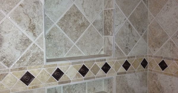 Tile Pattern Change Upper Tile Diamond Pattern Lower
