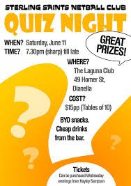 Quiz Night Poster Template Free Google Search Trivia Night Flyer Poster Template Free Quiz