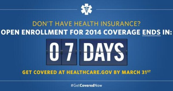 7 Days Left For Health Insurance Open Enrollment Health