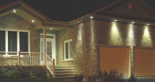 Soffit Lighting Exterior, Outdoor Under Soffit Led Lighting