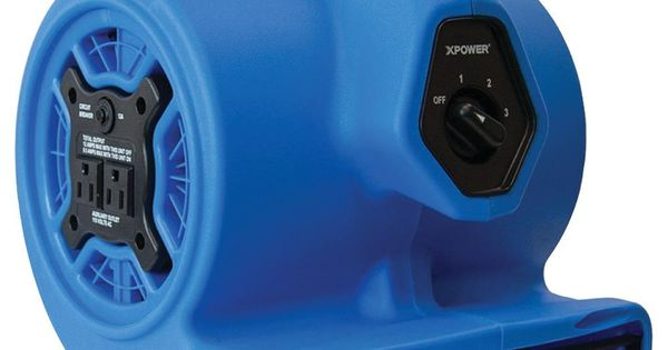 Xpower P 100a Mini Air Mover In 2020 Blower Fans Power Outlet Industrial Fan