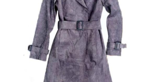 Plaszcz Jesienny Reserved Skora Zamszowa R 38 5684084130 Oficjalne Archiwum Allegro Coat Trench Coat Clothes