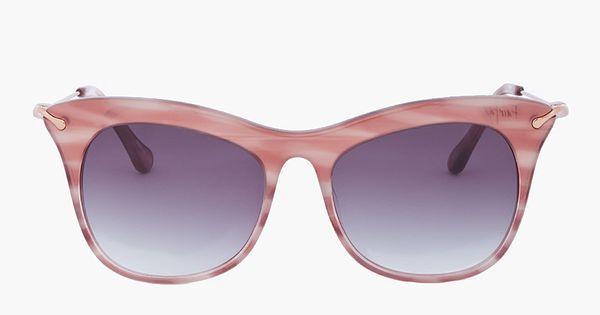 Fairfax Cat S Eye Sunglasses Rose