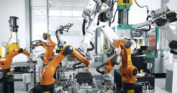 Kuka Industrial Robots Plastics Industrial Robots Robotic Automation Aviation Technology