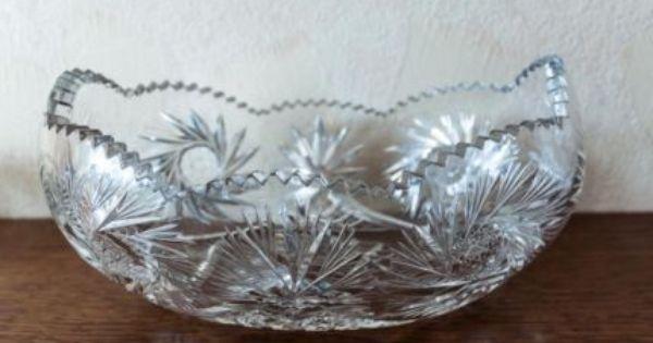 20er Jahre Obstschale Schiff Aus Kristallglas Ca 40 Cm Lang In Wandsbek Hamburg Sasel Kristallglas Obstschale Kristalle