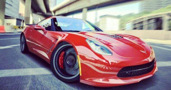 The new 2013 Chevrolet C7 Corvette