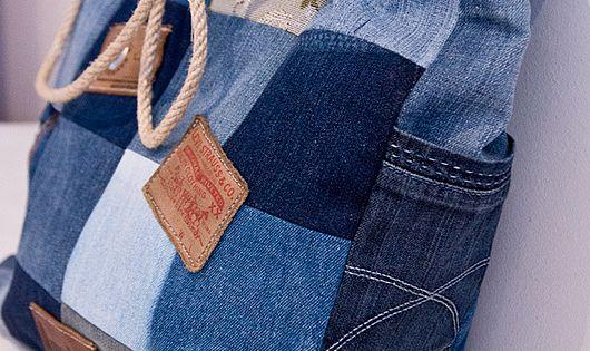 recycler des vieux jeans pour fabriquer un sac tendance jean 39 s pinterest sac en jean sacs. Black Bedroom Furniture Sets. Home Design Ideas