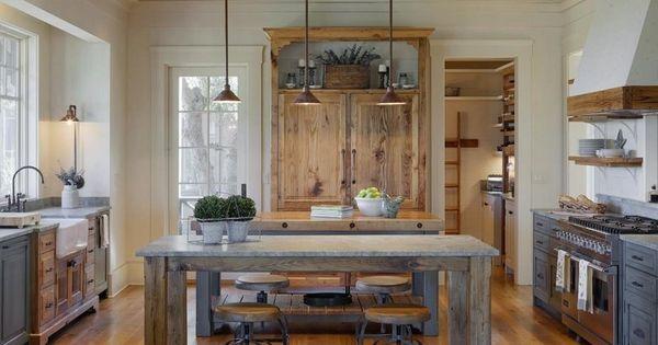 Cuisine gris et bois en 50 mod les vari s pour tous les for Classique ideas interior designs inc