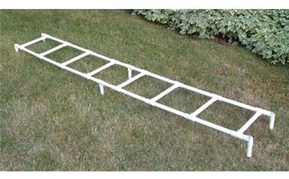 Pvc Ladder Rungs : Training agility ladder feet long with rungs spaced